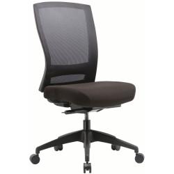 Buro Mentor Mesh Chair Chair No Arms Black Fabric Seat Mesh Back
