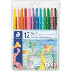 Staedtler Noris Wax Twister Crayons Assorted Pack of 12